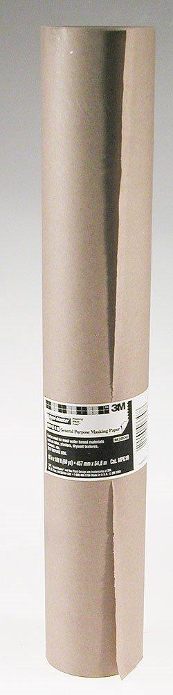 3M MPG-18 General Purpose Masking Paper Roll, 60 yds Length x 18