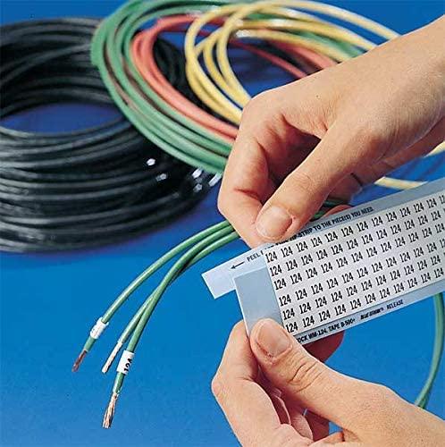 Brady Wm-min-pk Wire Marker,.25x1.5,(-),36/card,pk25