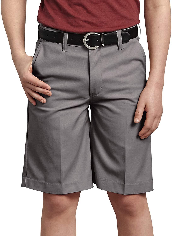 Dickies Boys' Big Flexwaist Flat Front Shorts
