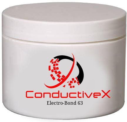 Graphite Filled Electrically Conductive Epoxy EMI RFI Shielding Adhesive Military Grade Heat Cure, Electro-Bond 63 , 50gm jar(s)