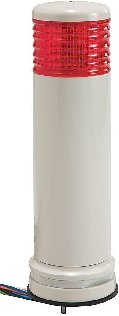 SCHNEIDER ELECTRIC XVC6M1K SIGNAL TOWER, LED, 60MM, RED, 240VAC
