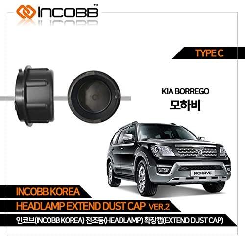 INCOBB KOREA KIA BORREGO HEADLAMP EXTEND DUST CAP VER.2 TYPE C