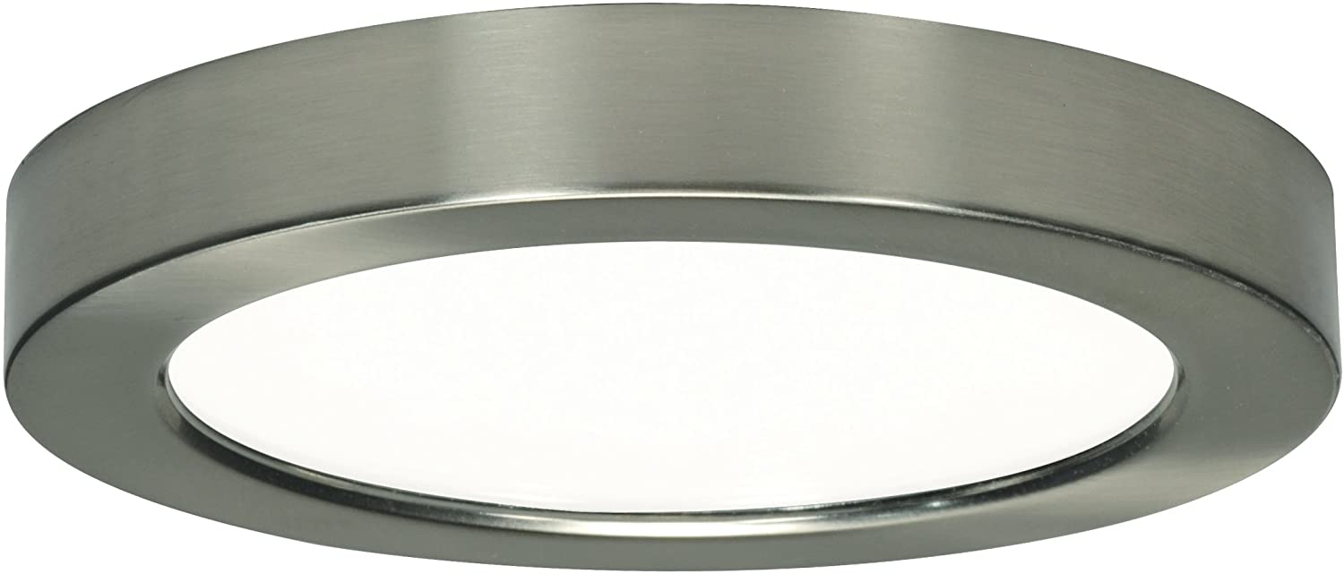 Satco Products S9329 Blink Flush Mount LED Fixture, 13.5W/7