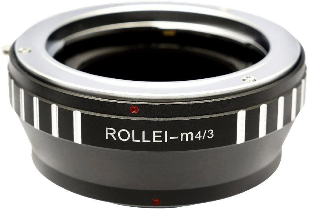 Gadget Place Rollei QB Lens Adapter for Panasonic DC-GH5 DMC-GX850 GX800 GF9 GX85 GX80 G85 G80
