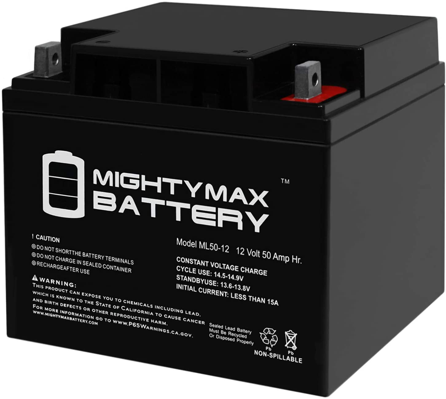 Mighty Max Battery ML50-12 -12V 50AH Battery for SIMPLEX Alarm 2081-9298 Brand Product