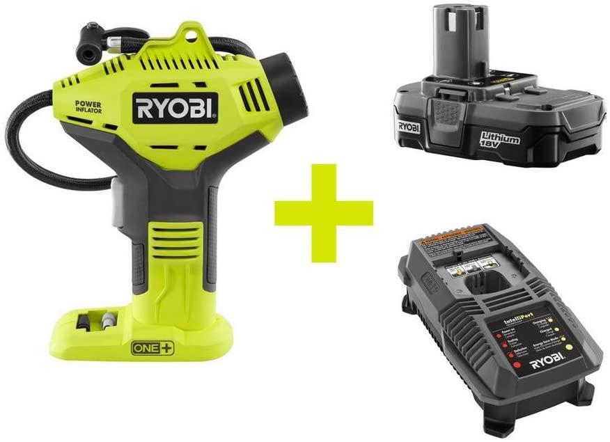 Ryobi 18-Volt ONE+ Power Inflator Kit