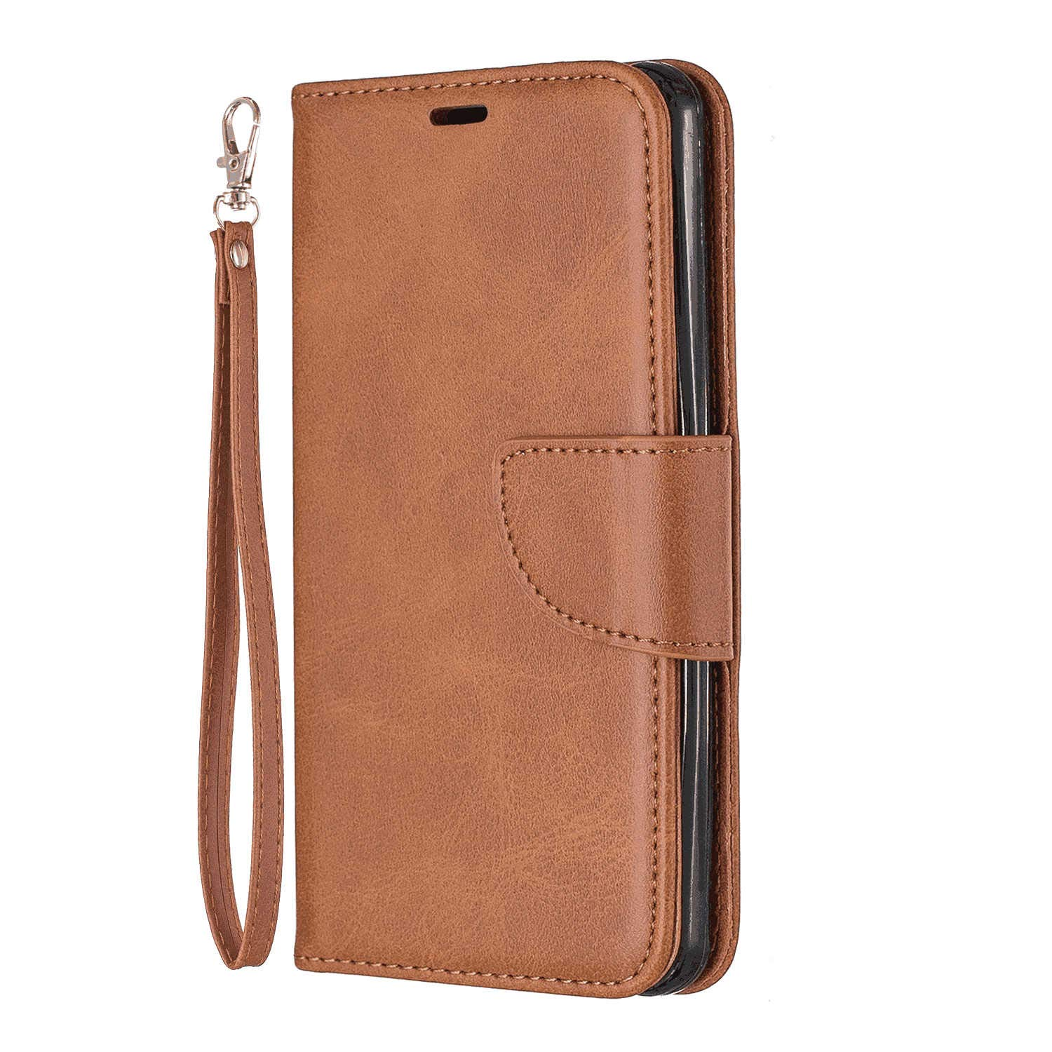 Flip Case for Samsung Galaxy A50, Leather Cover Business Gifts Wallet with Extra Waterproof Underwater Case