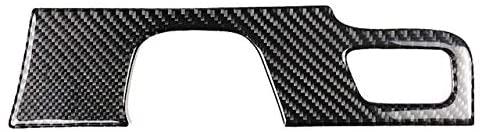 Mudguards Carbon Fiber Refit Car Interior Center Control Decor Frame Gearshift Panel Decoration Sticker For Cadillac Xt5 2016 2017 - (Color: Black)