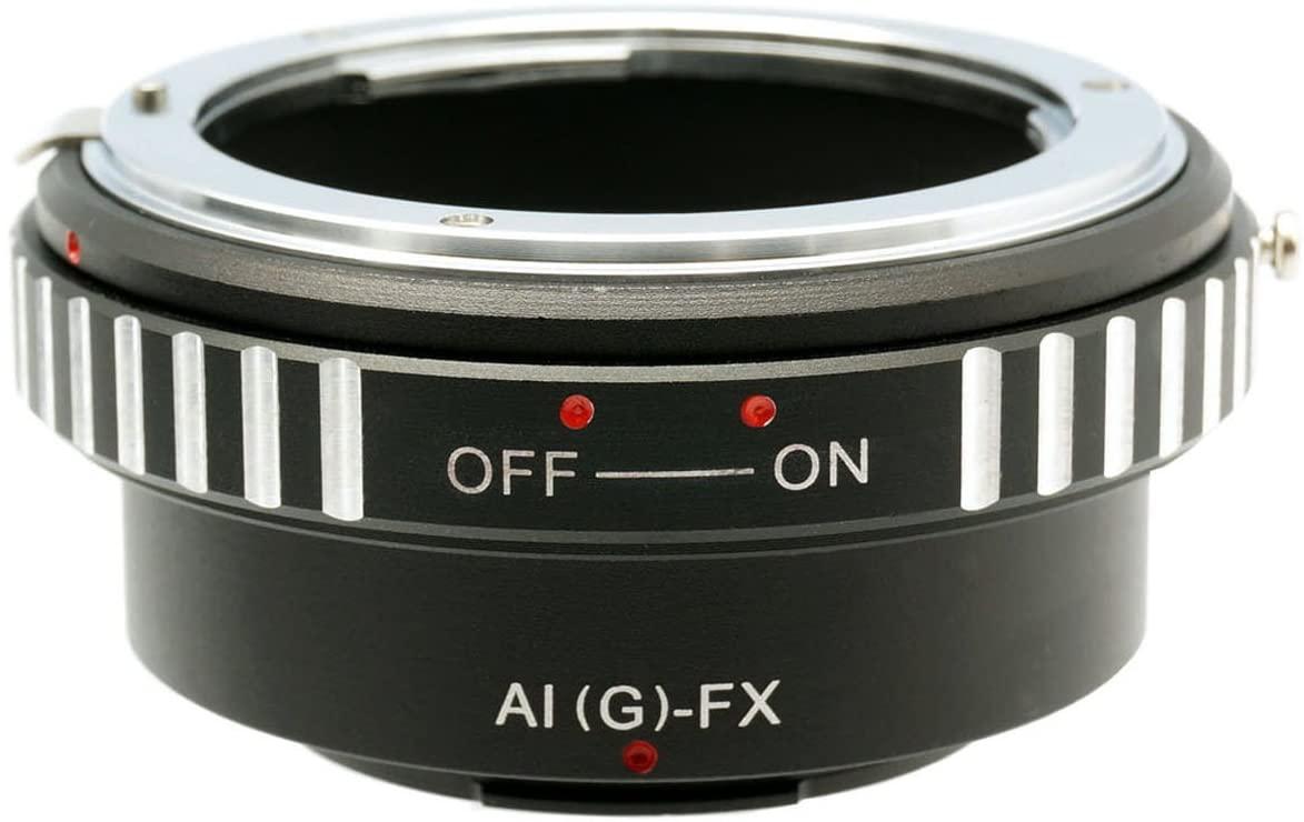 Gadget Place Nikon G Lens Adapter for Fujifilm X-Pro1 X-E2S X-T10
