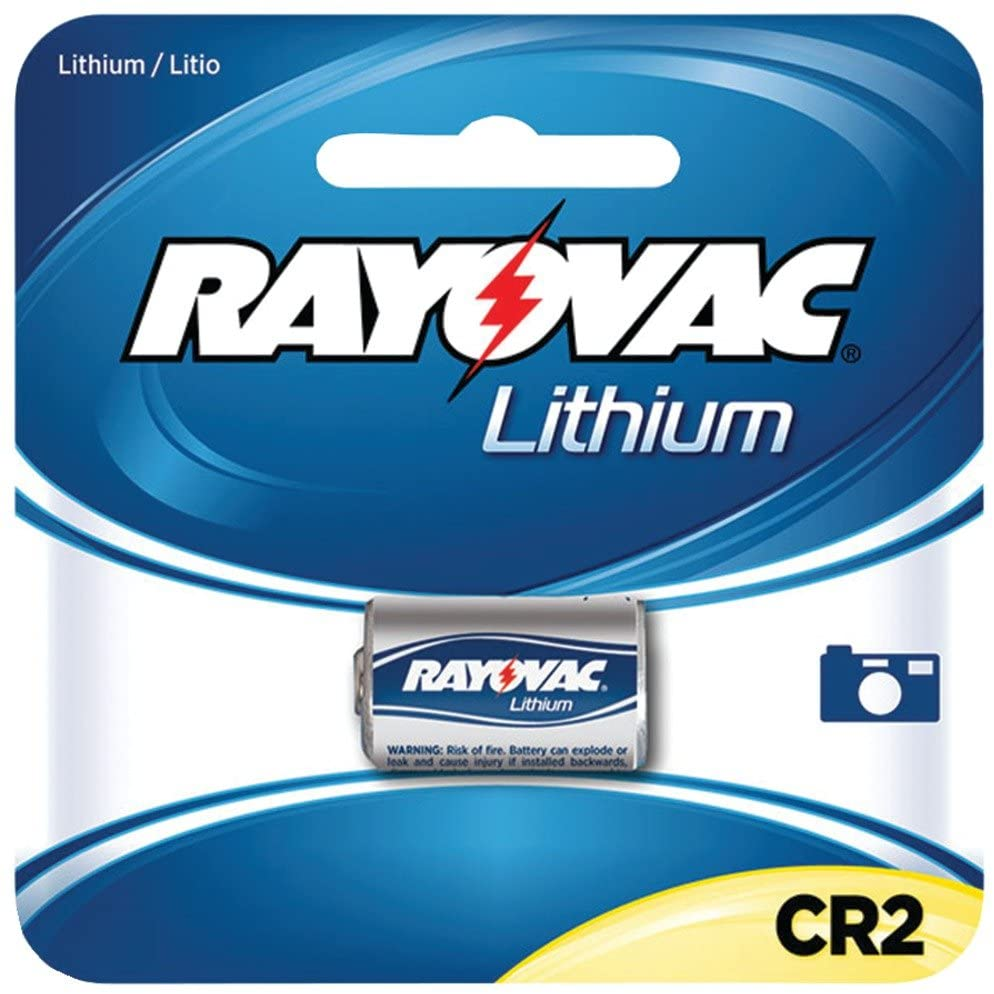 RAYOVAC RLCR2-1 3-Volt Lithium CR2 Photo Battery, Carded (Single) Consumer electronic