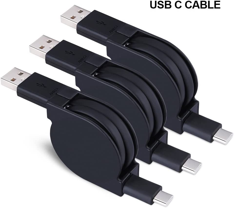 USB Type C Cable,Sicodo USB C Cable Cords 5 Pack (6.6ft) Nylon Braided Fast Charger Cord Compatible with Samsung Galaxy S10 S8 S9 Note 8 S8 Plus,LG G6 V30 V20,Moto Z2,Google Pixel,New MacBook More