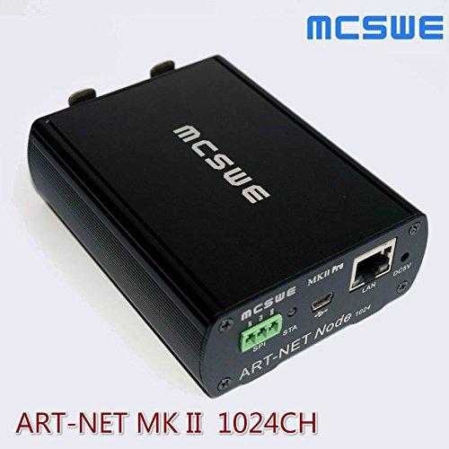 ELEOPTION DMX512 ArtNet Network Controller 3D Simulation 1024 Bidirectional Light Console