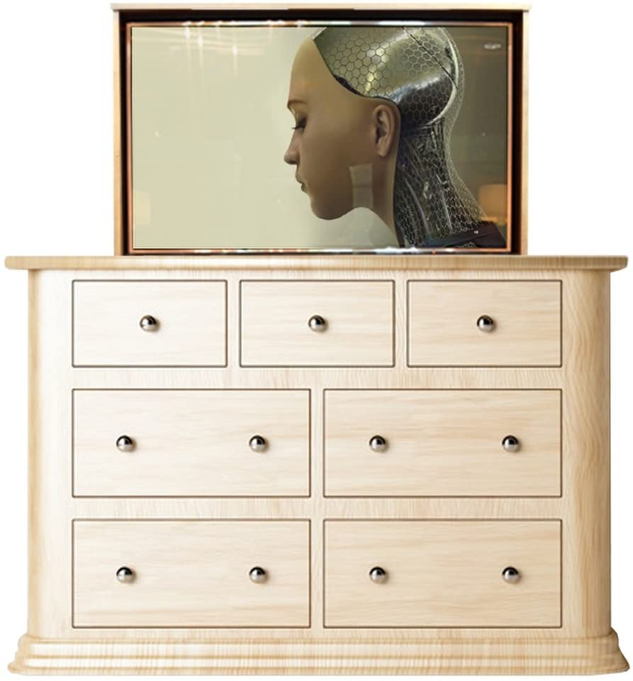 TV Lift - Handcrafted Apollo TV Lift Cabinet (55
