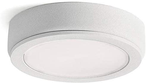 Kichler 4D12V27WHT 4D Series Cabinet Puck, 1-Light LED 4 Watts, Textured White