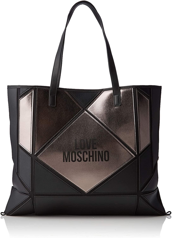 Handbag woman or shoulder bag LOVE MOSCHINO item JC4120PP18LX BORSA NYLON + PVC - cm.45 x 37 x 1