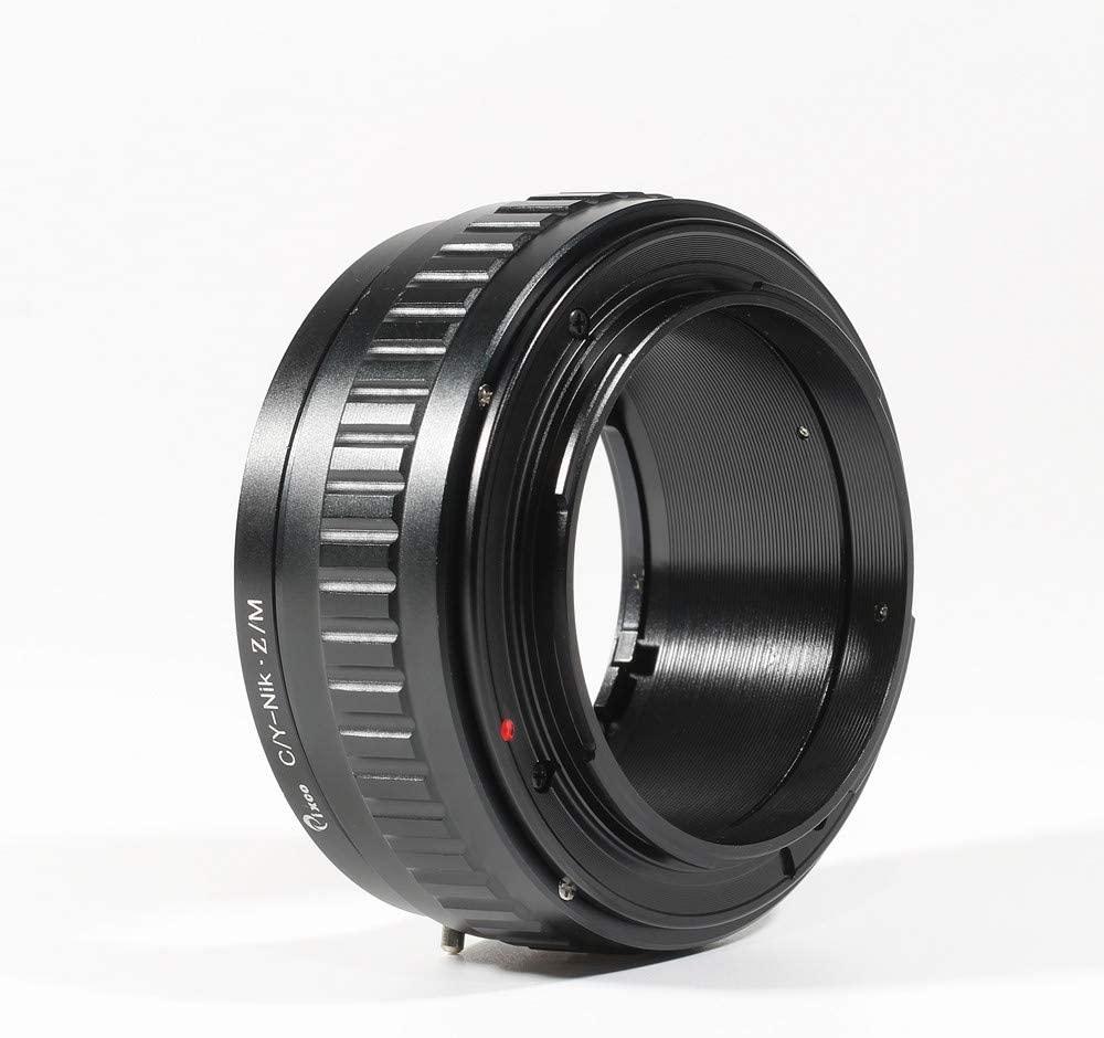 Pixco Adjustable Macro to Infinity Lens Adapter Suit for Contax CY Mount to Nikon Z6 Nikon Z7 Camera