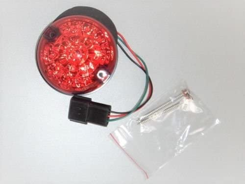 BEARMACH RED STOP/TAIL LAMP LED STYLE LIGHT 73MM COMPATIBLE WITH LAND ROVER DEFENDER 90/110, PART # BA9710