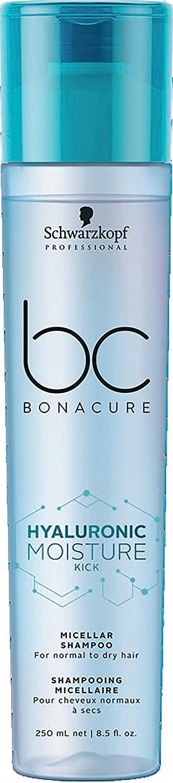 BC BONACURE Hyaluronic Moisture Kick Micellar Shampoo, 8.5-Ounce