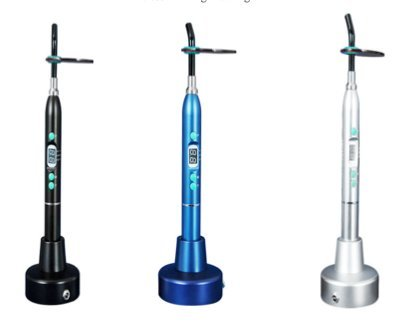 ATI Excelled Curing Light Teal