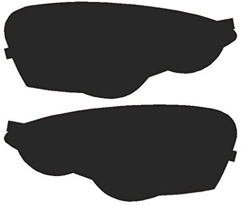Precut Vinyl Tint Cover for 2002-2004 Acura RSX Headlights (20% Dark Smoke)