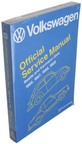Bentley W0133-1623746-BNT Paper Repair Manual VW Bettle/Ghia (Type 1)