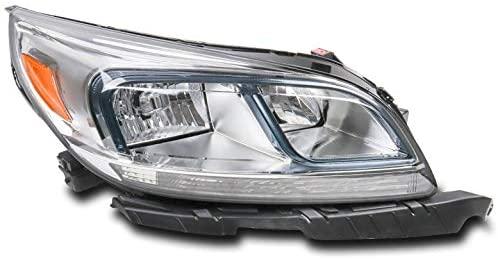ZMAUTOPARTS Replacement Headlight Headlamp Lamp Passenger Side For 2013-2015 Chevy Malibu LS / 2016 Malibu Limited LS