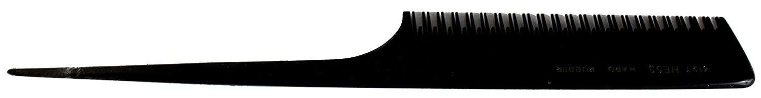 Hard Rubber Pintail Comb