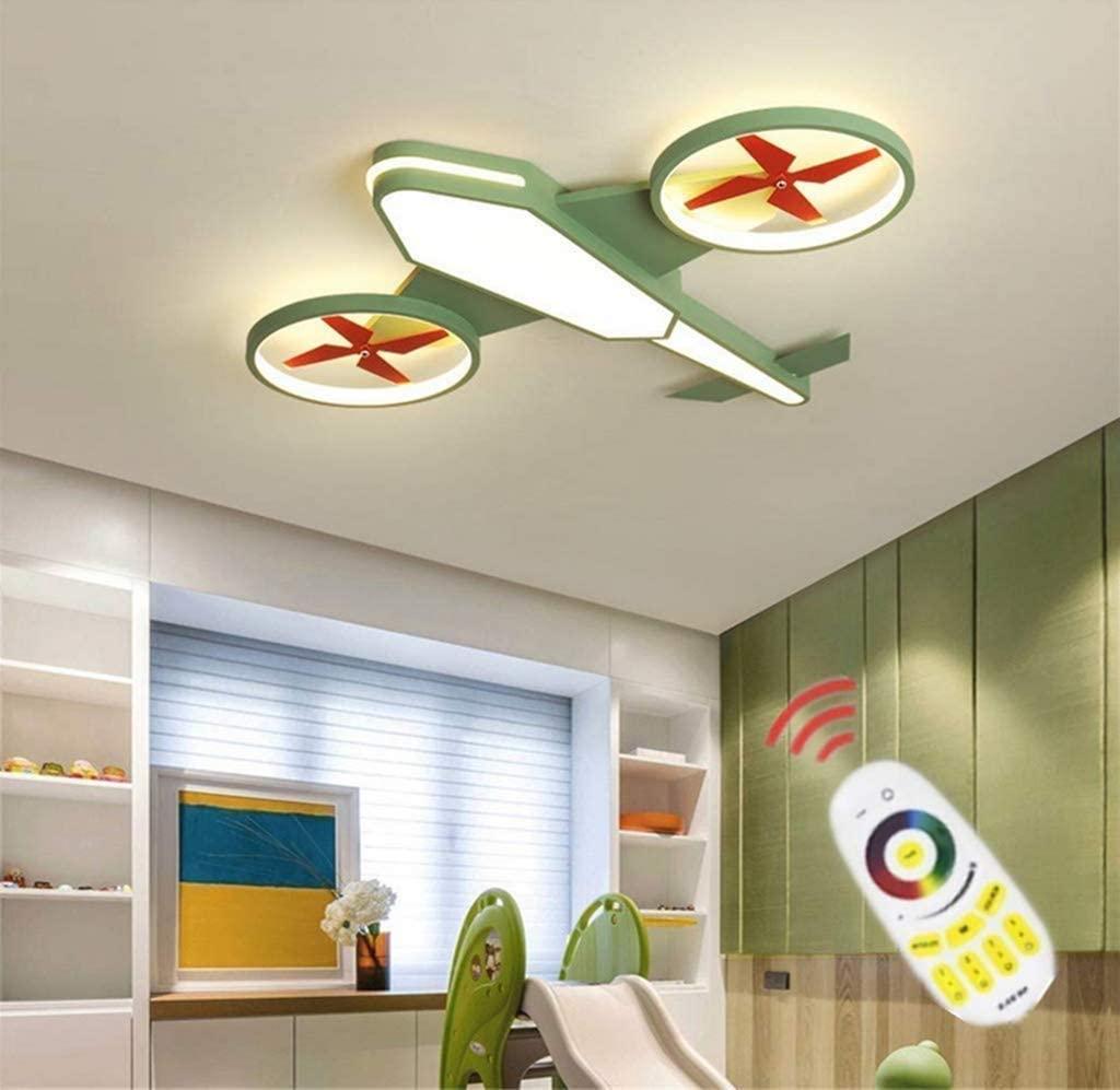 ZG Fighter Creative Fashion Cartoon Boy Eye Lamp LED Ceiling Light Aircraft with