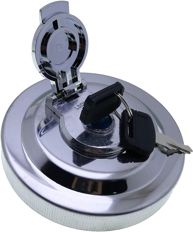 JEENDA Fuel Cap Locking W/2 Keys 4361638 compatible with JD Excavator 70D 75D 85D 120D 135D 200LC 330LC-870GLC 992DLC 495D 600C LC 330CLC 370C 240DLC 270DLC 350DLC 450DLC 650DLC 850DLC 160DLC