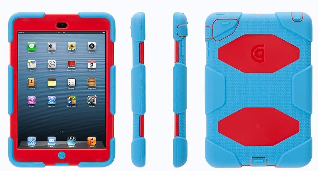 Blue/Red Survivor Case for iPad mini