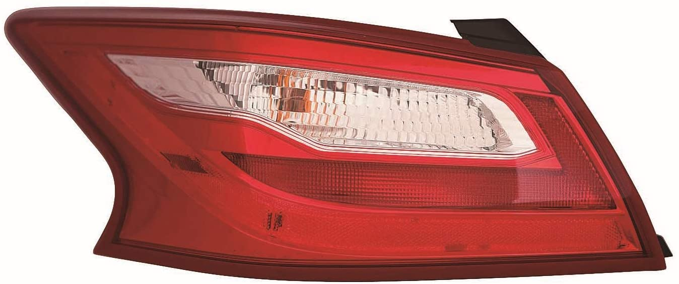 ACK Automotive Light for Nissan Altima Sedan 16-17 Tail Light without Smoke Lens Outer US Driver Side