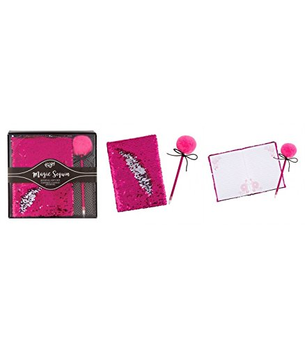 Fashion Angels Magic Sequin Beauty Wristlet, Pink/Silver