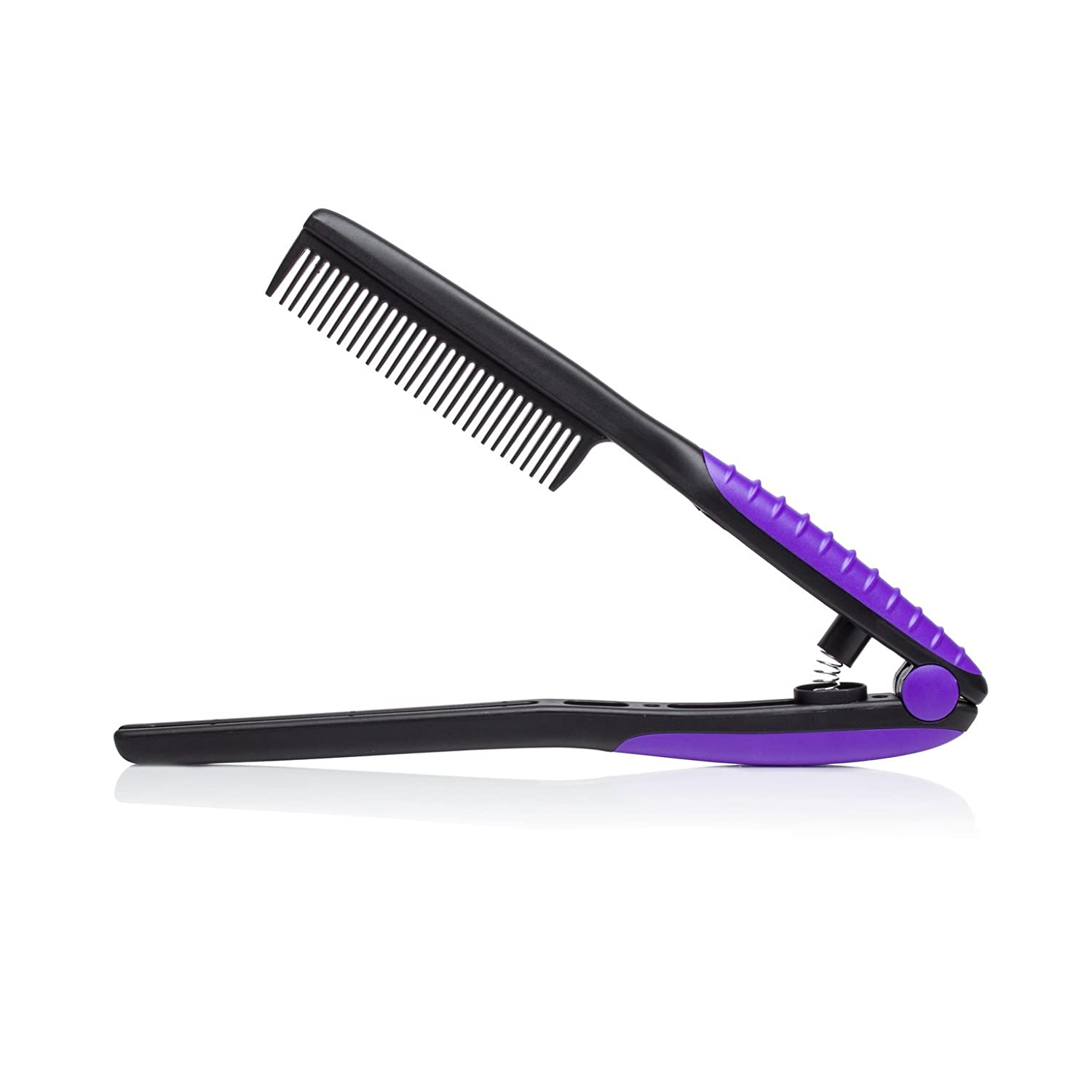 Brilliance New York - EZ Comb, Supports Precision Styling, Black and Purple