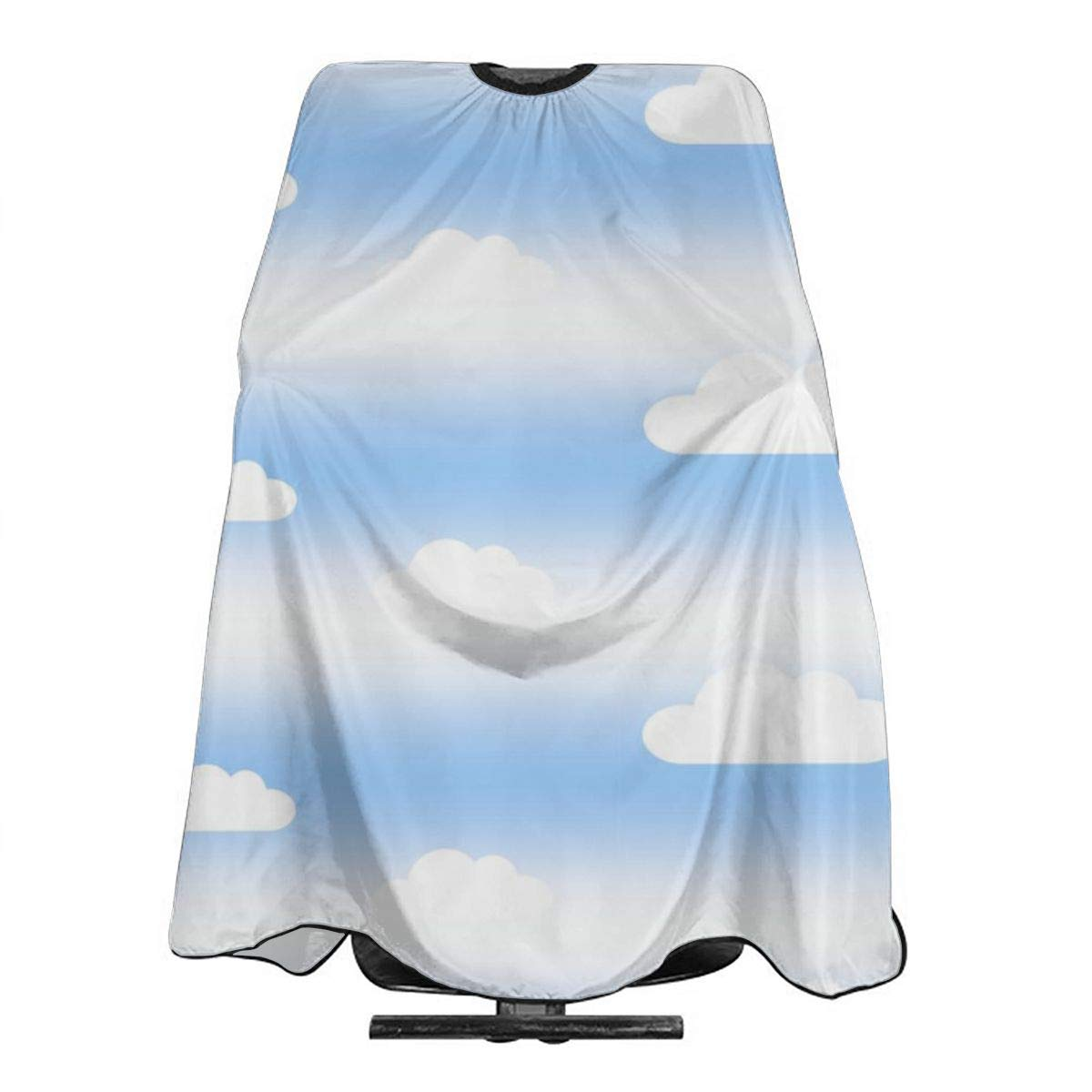 Professional Barber Cape Salon Hair Styling Cutting Haircut Aprons Sky Cloud Striped Capes For Proof Hairdresser Coloring Perming Shampoo Chemical 55