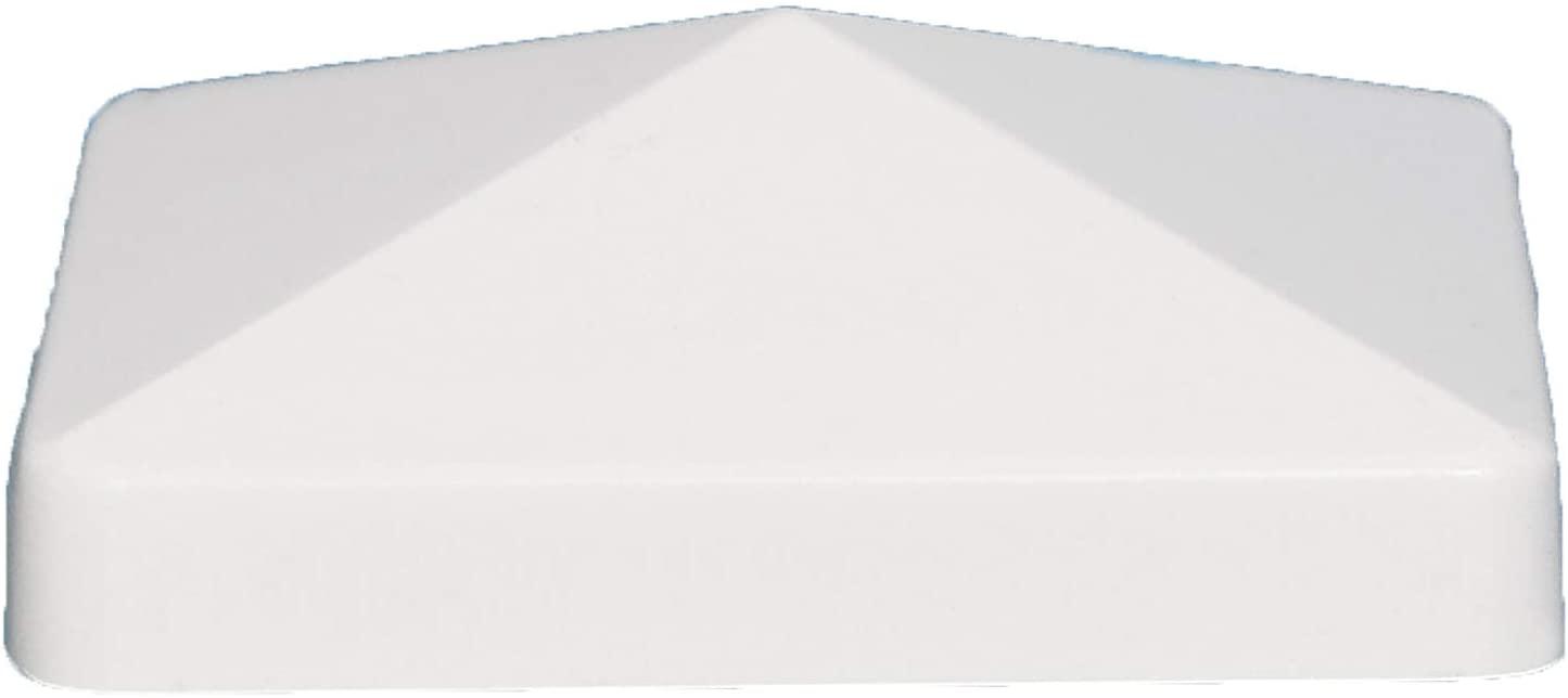 Classy Caps FBA_PF755 5X5 Pyramid PVC Post Cap, 5
