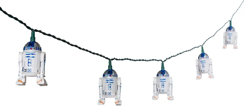 Star Wars Kurt S. Adler 10-Light R2D2 Light Set