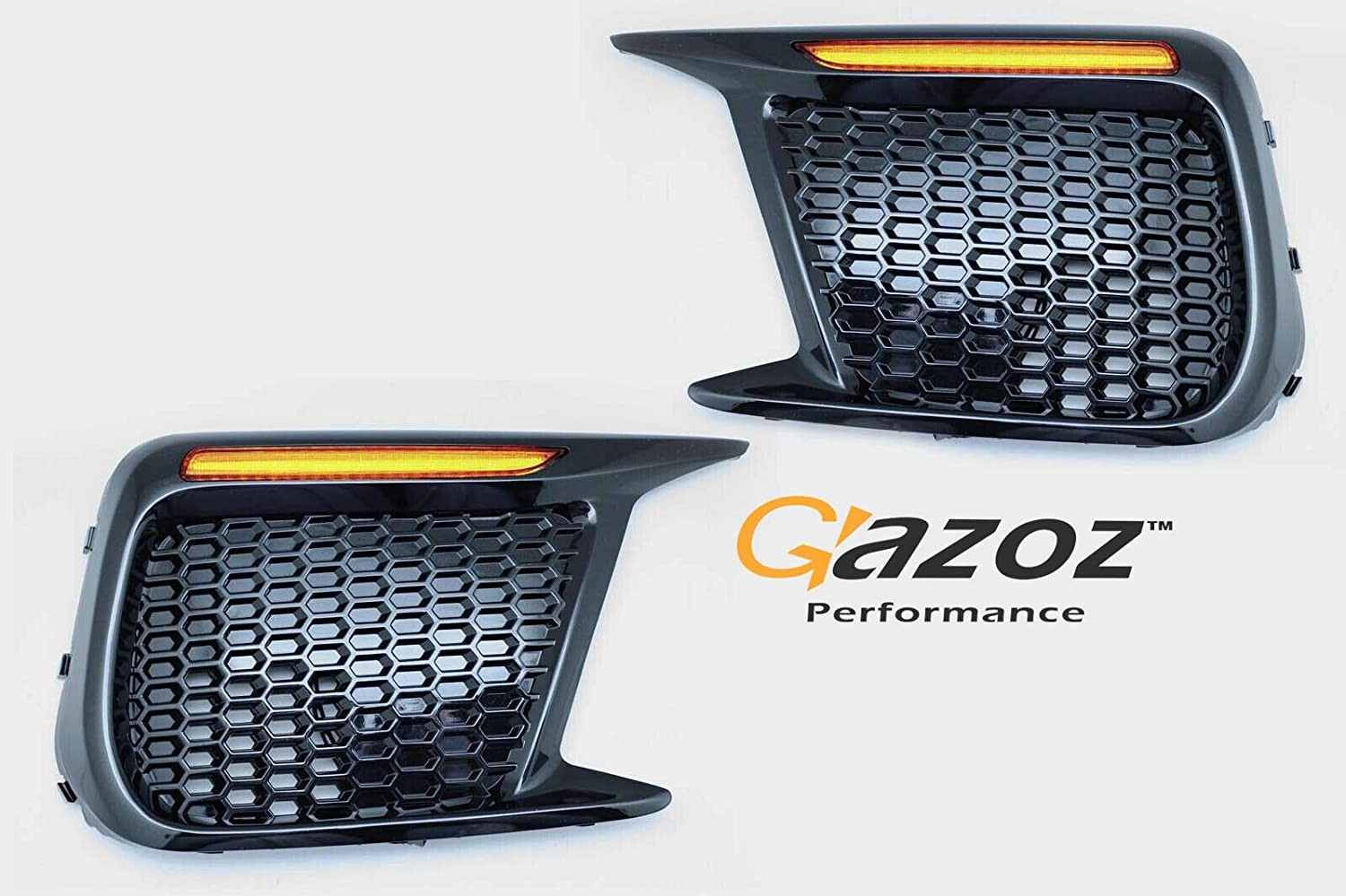 GAZOZ PERFORMANCE Sequential LED Turn Signal + Daytime Lights Non-Fog for 2018-up Subaru WRX STI