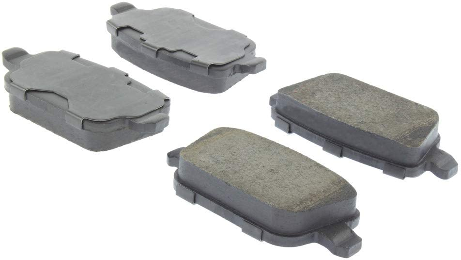 Centric Premium Ceramic Brake Pads with Shims and Hardware