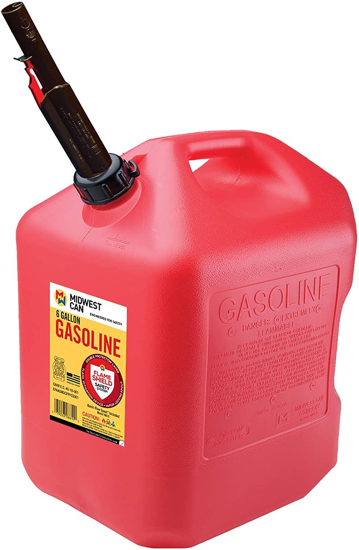 Quick-Flow Spout 6610 Auto Shut Off Gasoline Can