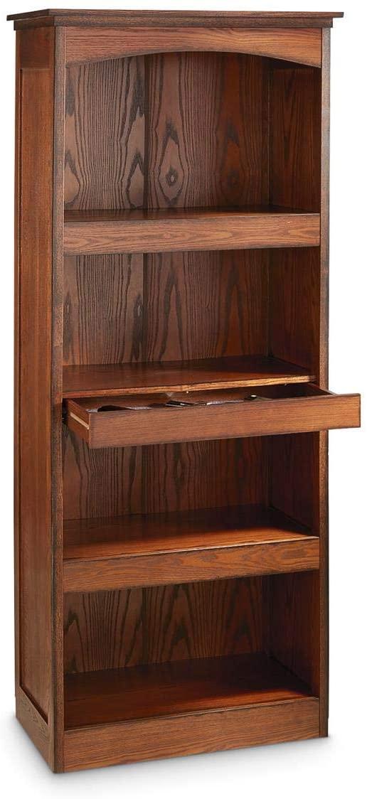 CASTLECREEK Gun Concealment Bookcase