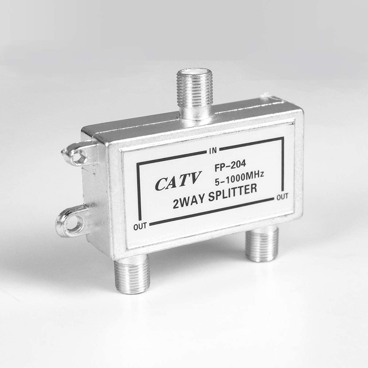 Daisypower 2-Way Coaxial Cable Splitter for CATV TV Antenna Coaxial Signal Split
