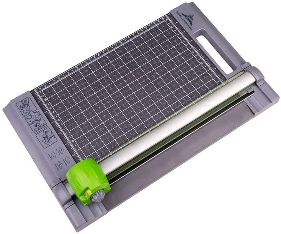 LIDU A4/A5 Paper Cutter Trimmer Portable Scrapbooking Machine Precision Paper Photo Cutter Cutting Mat Machine Office Die-Cut Machines