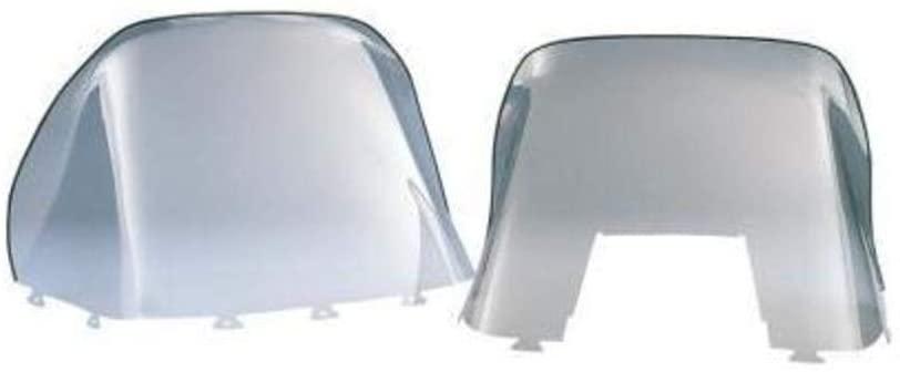Kimpex Polycarbonate Windshield - Standard - 12.5in. - Smoke 06-457-01
