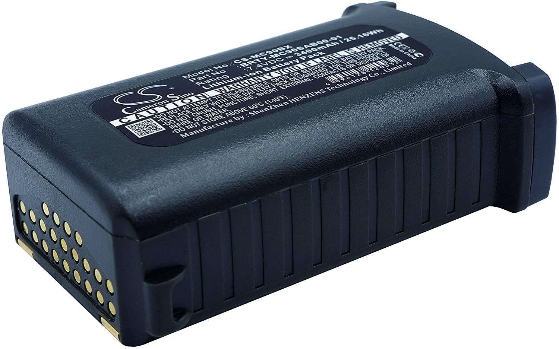 Battery Pack 21-65587-01 Replacement for Symbol MC9062 MC909 MC9090 MC9090-G MC9090-K 3400mAh