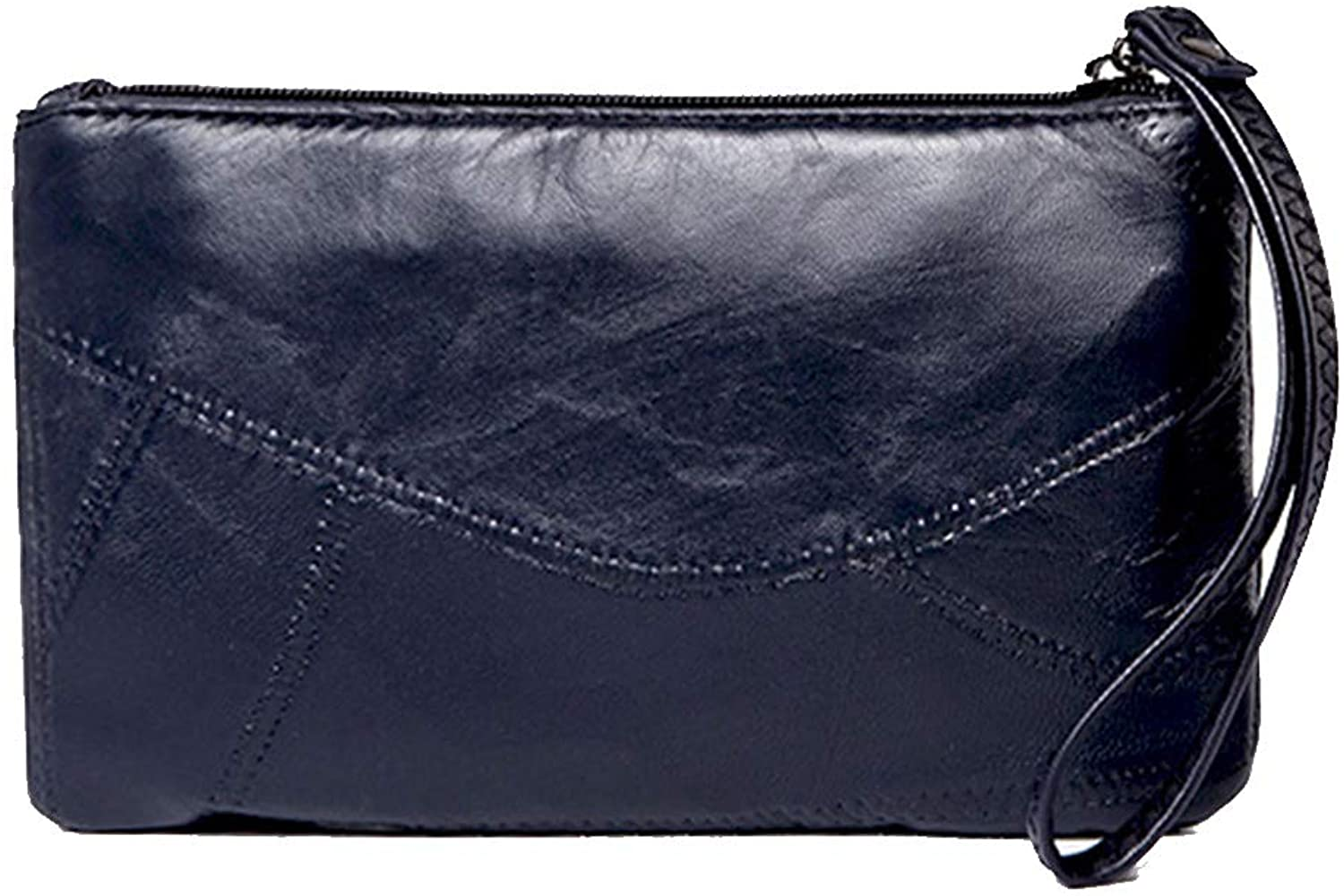 Oichy Clutch Handbag for Women Small Wristlet Phone Purse Leisure Leather Bag for Ladies