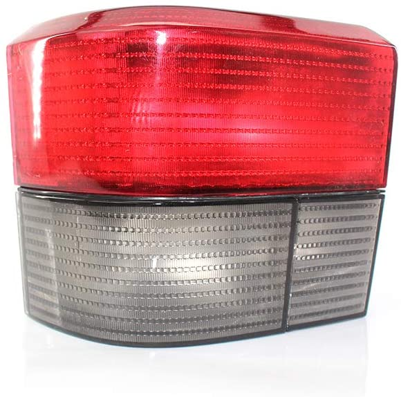 SZSS-CAR For VW Transporter Caravelle T4 1992~2004 Auto Smoked Red Rear Tail Light Car Lamp Without Bulbs(Driver side)