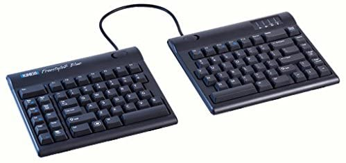 Kinesis Freestyle2 Blue Wireless Ergonomic Keyboard for PC (9