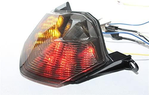 XKH- Motorcycle Led Tail Brake Light Compatible with Kawasaki Z750 Z1000 Zx-10R Zx1000 Zx-6R Zx600 Smoke [B075DSJRLD]