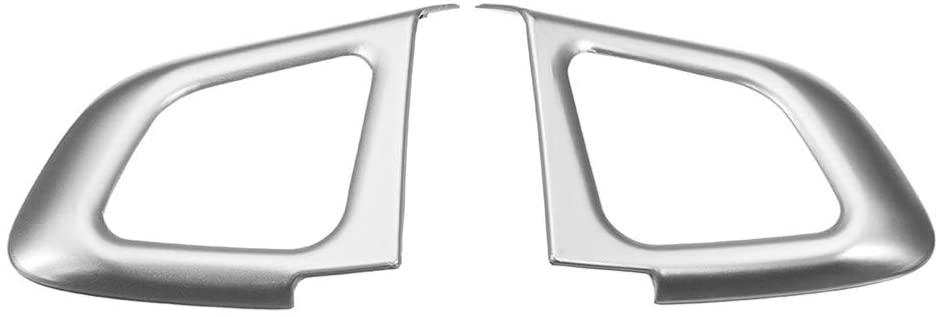 CLCTOIK Car Steering Wheel Sequins,for Range Rover for Land Rover Evoque 2012-2016