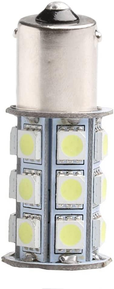 TeemorShop 1Pcs SMD 1156 5050 BA15S 27 LED Car Brake Tail Turn Light Lamp Bulb 12V White